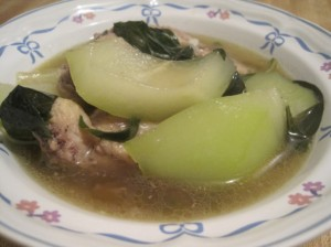 Tinola: Chicken Soup for the Pinoy Soul