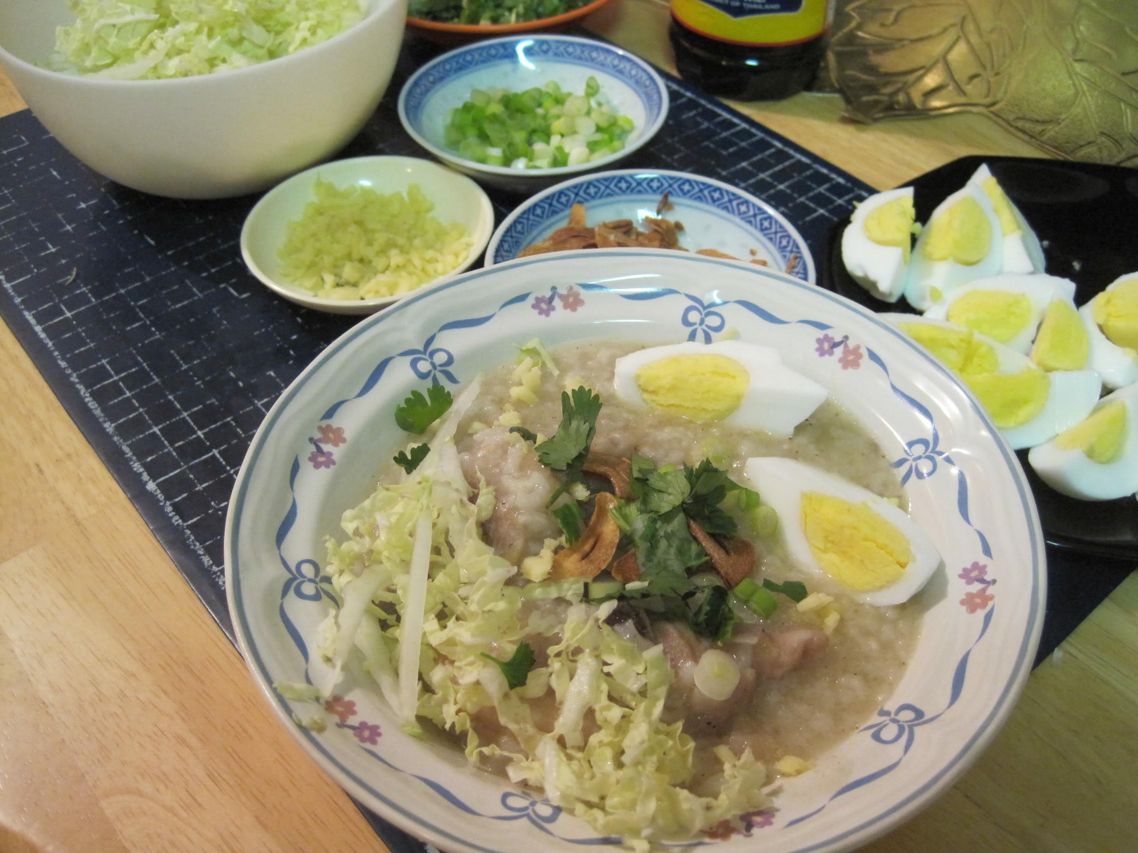 Arroz Caldo – Chicken Soup with Rice