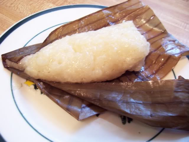 Suman – Sticky Rice in Banana Leaf