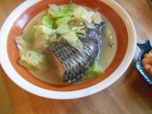 Pesang Isda – Fish in Ginger Soup