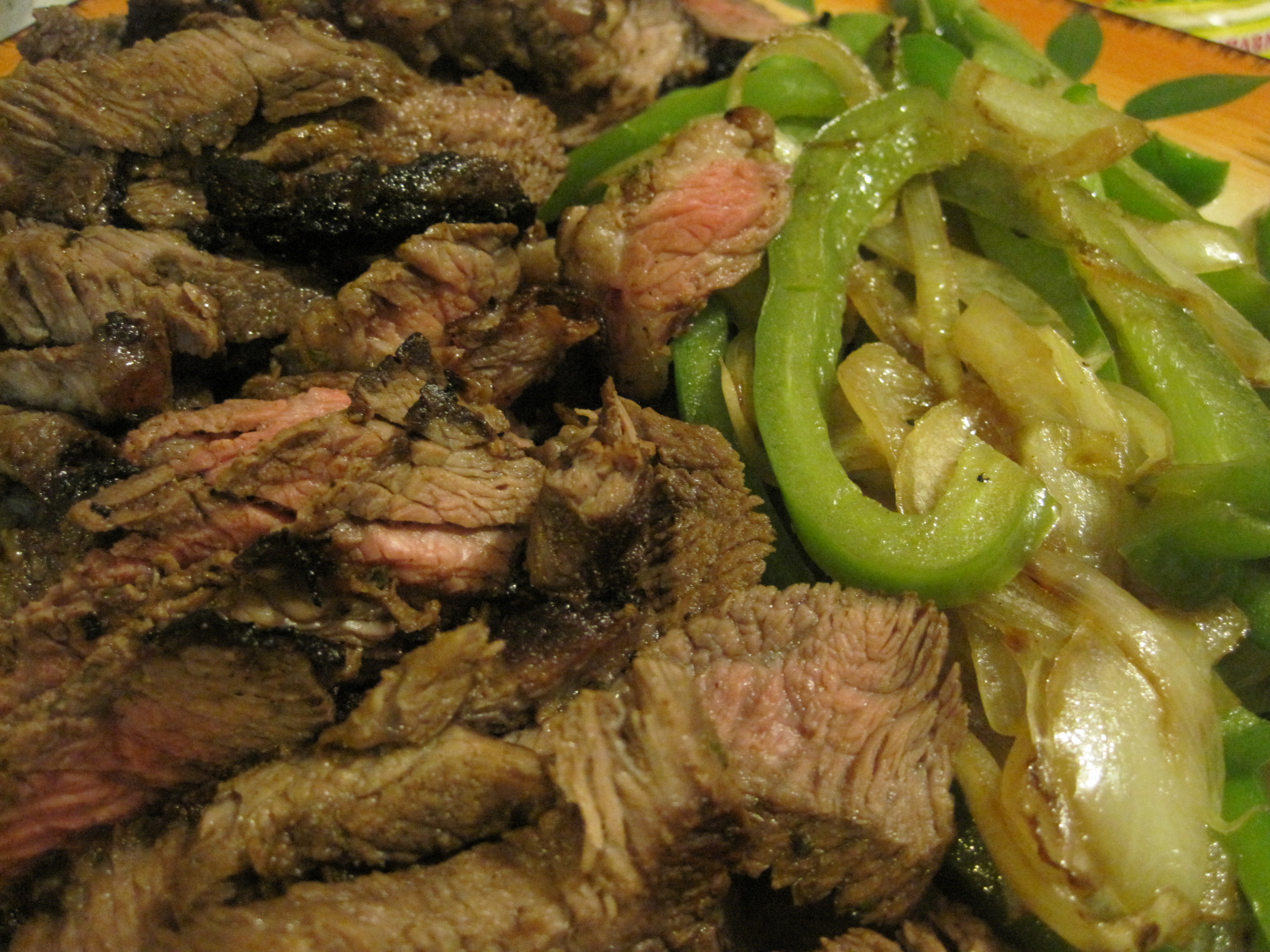 Chili Lime Steak Fajitas – Cooked From the Heart