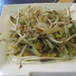 Bean Sprouts and Mushrooms