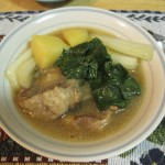 Nilaga: Oxtail Soup with Potatoes and Vegetables