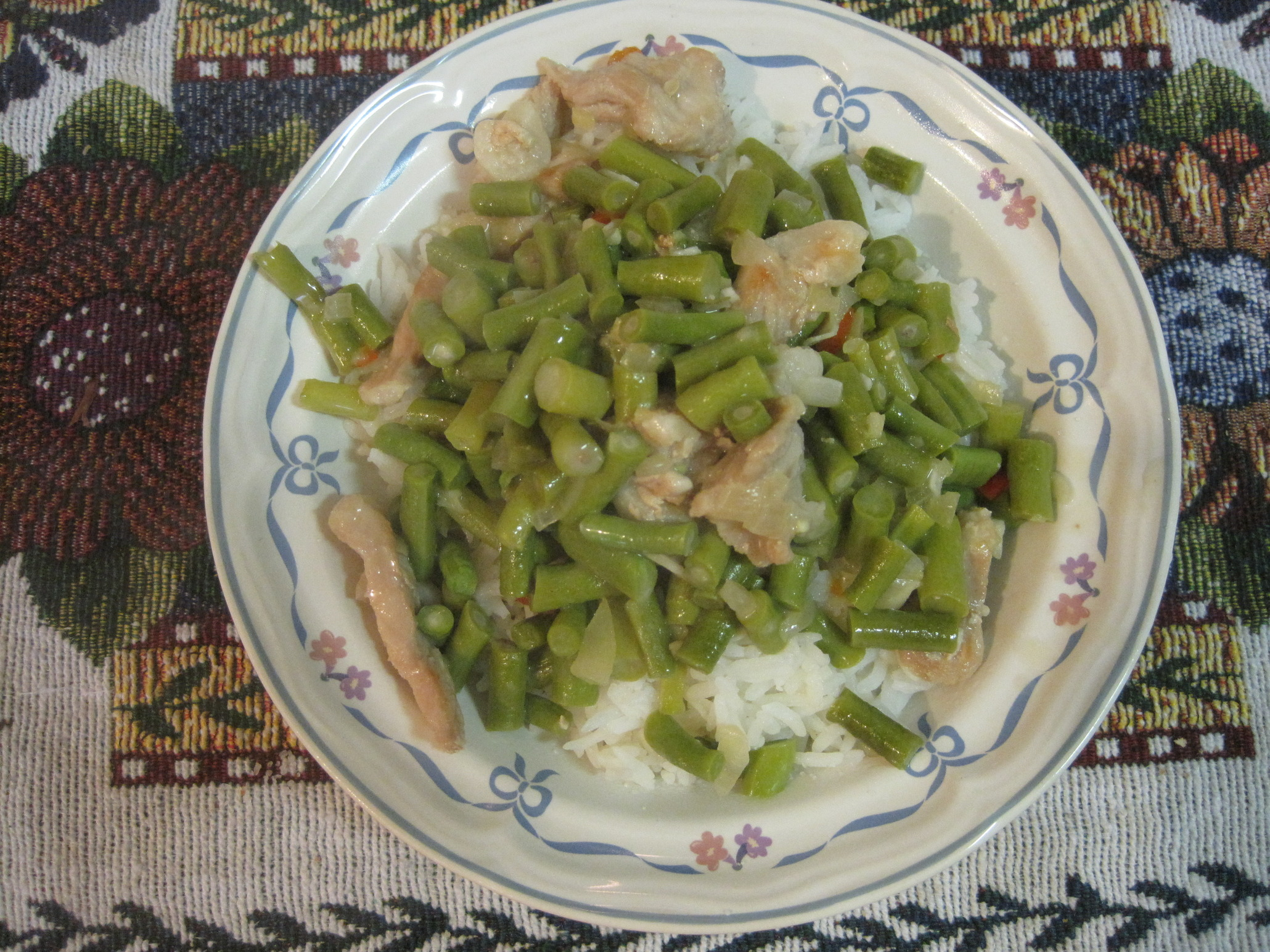 Yard-long Beans with Coconut Milk