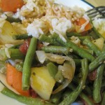Ginisang Sitaw – Stirfried Long Beans