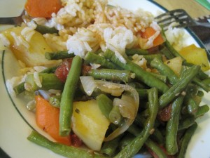 Ginisang Sitaw &#8211; Stirfried Long Beans