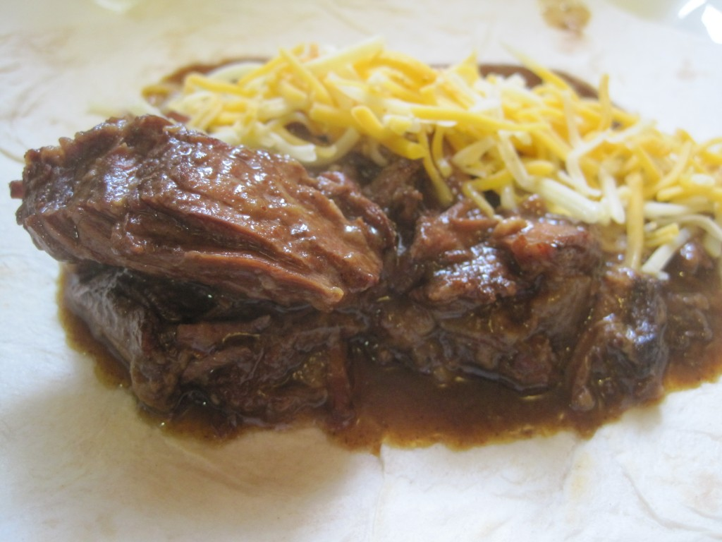 Tito's Tacos' All Meat Burrito