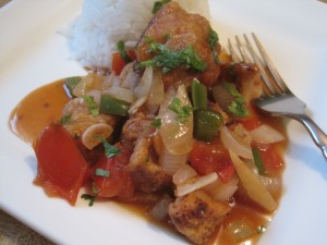 Chicken Escabeche