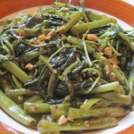 Kangkong (On Choy) Adobo Style