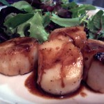Scallops with Lemon Sauce